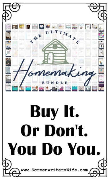 2019 Ultimate HOMEMAKING Bundle Review - Don't Buy It. Or Do.