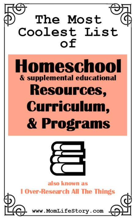 coolest homechool resources