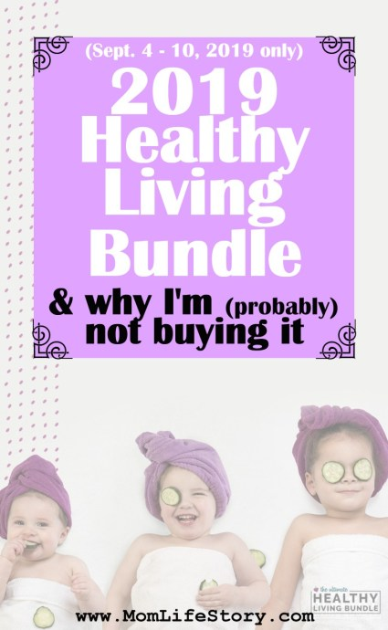 2019 Ultimate HEALTHY LIVING Bundle Review & Why I'm (probably) NOT Buying It