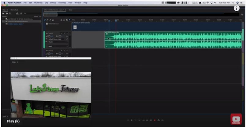 How To Sync Audio To Video In Adobe Audition - Full Tutorial