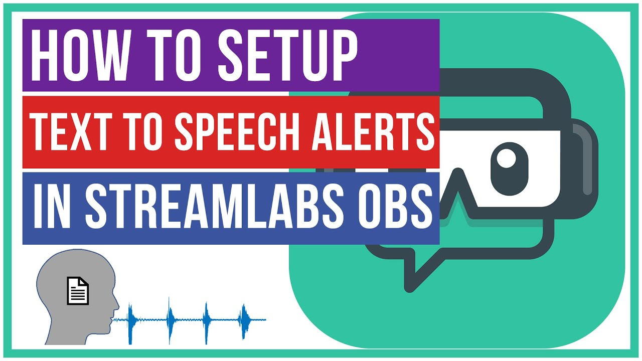 How To Set Up Text To Speech Donations In Streamlabs Obs Think Tutorial