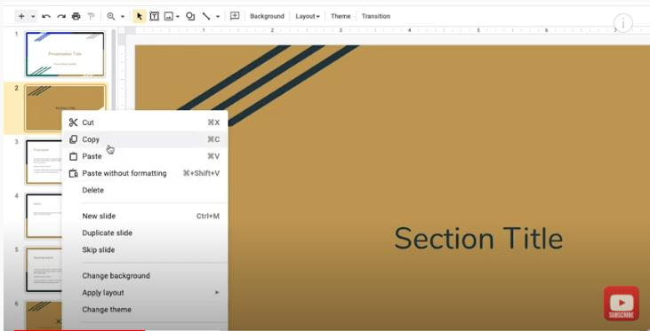 Google Slides Full Tutorial