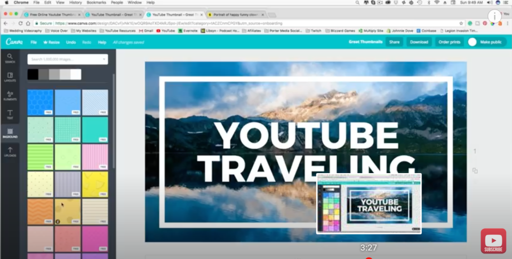 How to Create Free YouTube Thumbnails Using Canva