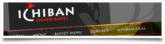 Website Design for  Ichiban Buffet - Flowood Mississippi