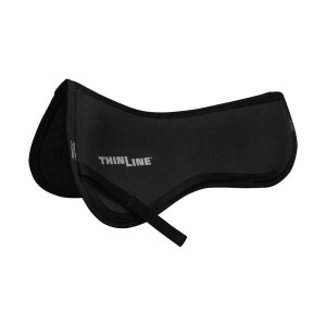 Black ThinLine Trifecta Cotton Half Pad