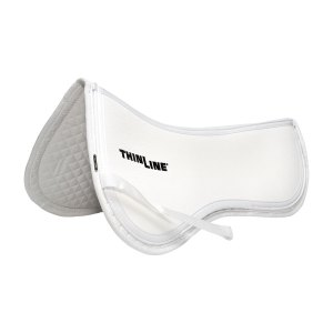 White ThinLine Trifecta Cotton Half Pad