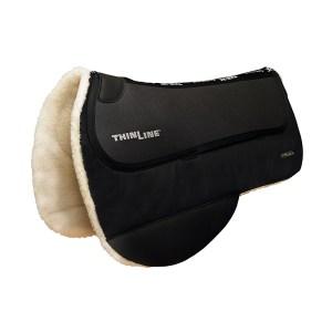 ThinLine Endurance Waxed Saddle Pad Black