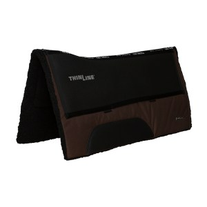 ThinLine Western Ranch Saddle Pad Brown