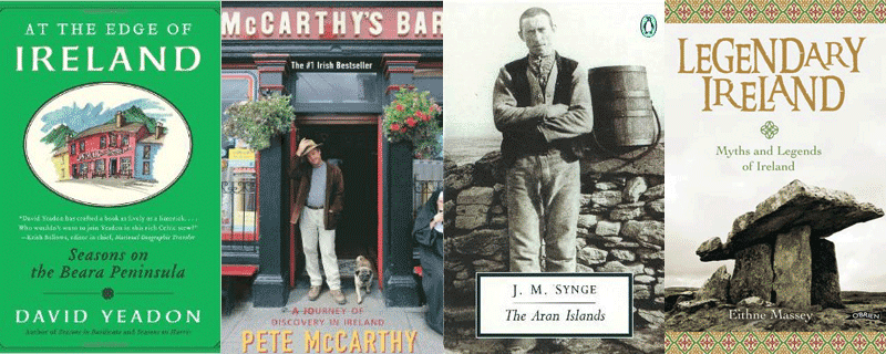 Books about the Beara Peninsula, Aran Islands and Legendary Ireland