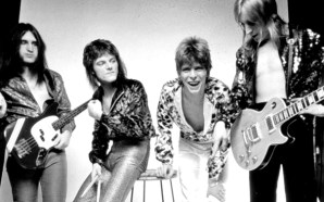 Trevor Bolder Mick Woody Woodmansey David Bowie Mick Ronson Spiders From Mars Ziggy Stardust 1972
