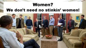 ObamaNoWomen