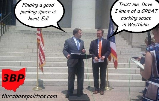 David Pepper and Ed Fitzgerald