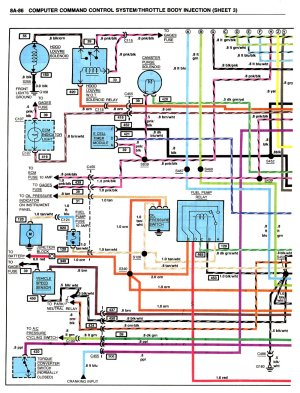Need 1983 CrossFire diagrams, please  Third Generation F