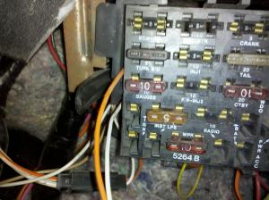 Missing some fuses on 1989 Trans am  Third Generation F
