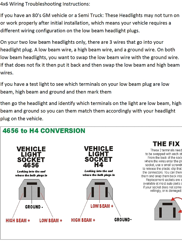 Replacement Headlight Question