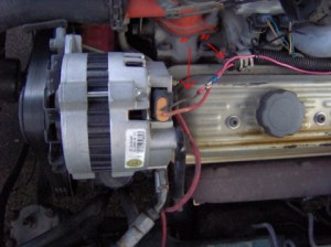 alternator (cs130) won't charge?  Third Generation FBody
