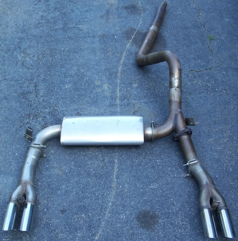 cat back exhaust system 3rd gen f body