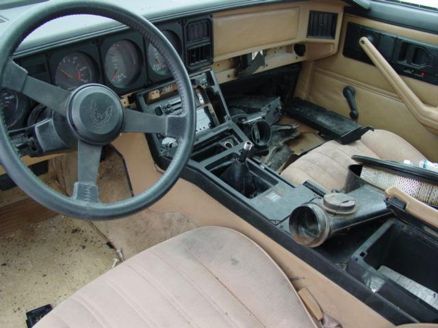 Trans Am Interior Parts