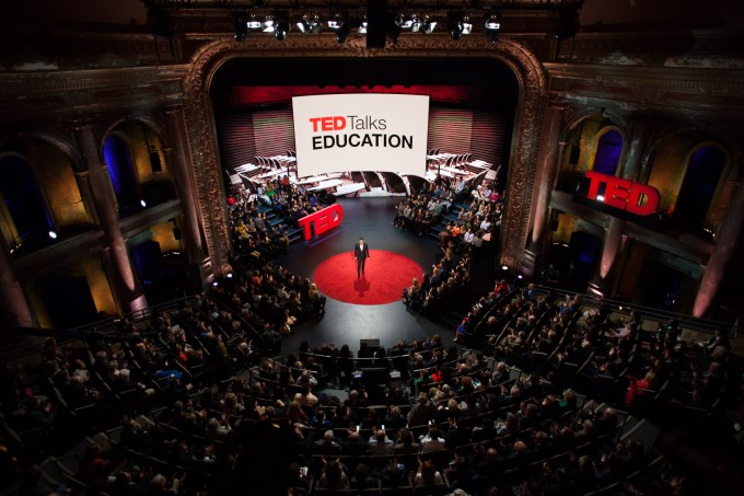 TED talk crowd