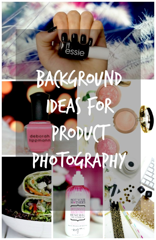 backgrounds ideas for product photography