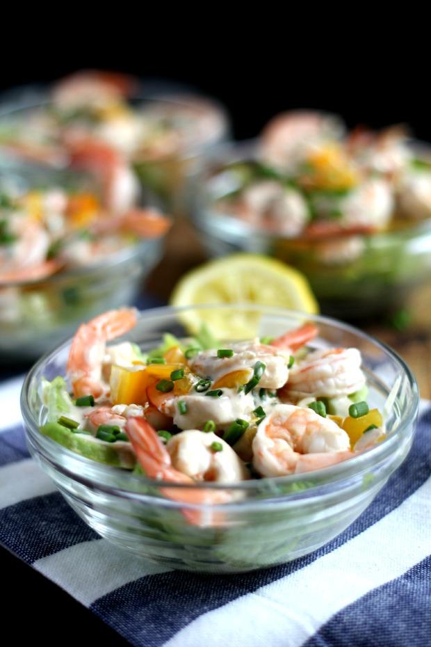 light shrimp salad recipe