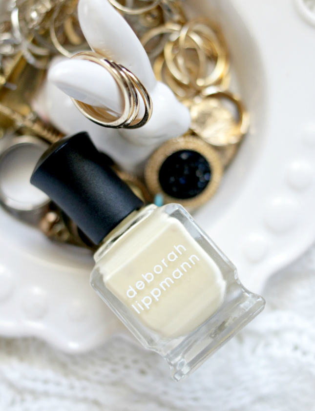 pastel yellow polish