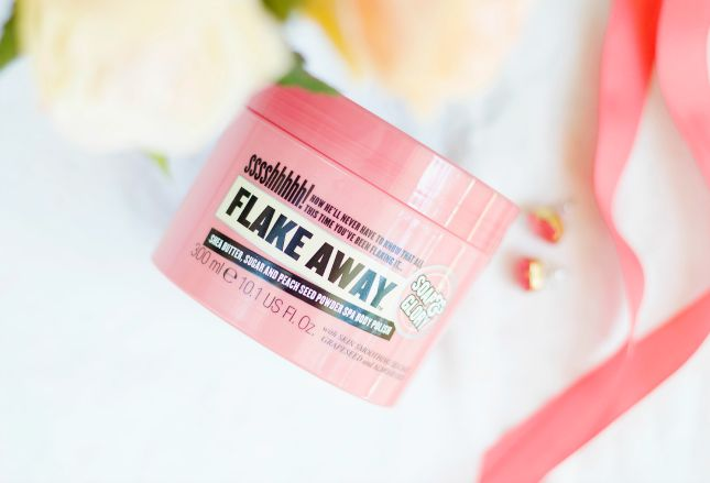 soap and glory flake away body polish review