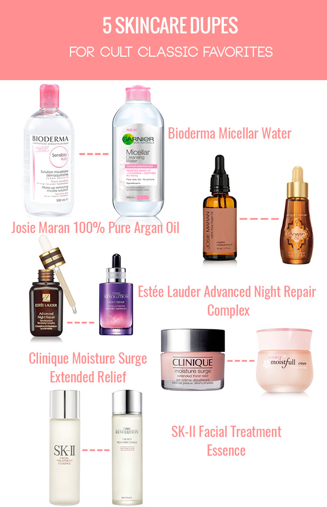 Amazing Skincare Dupes For Cult Classic Favorites Thirteen Thoughts