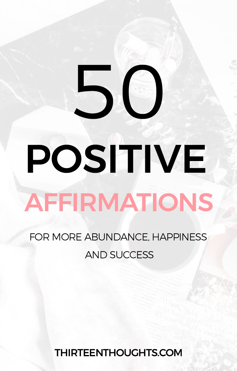 50 Positive Affirmations