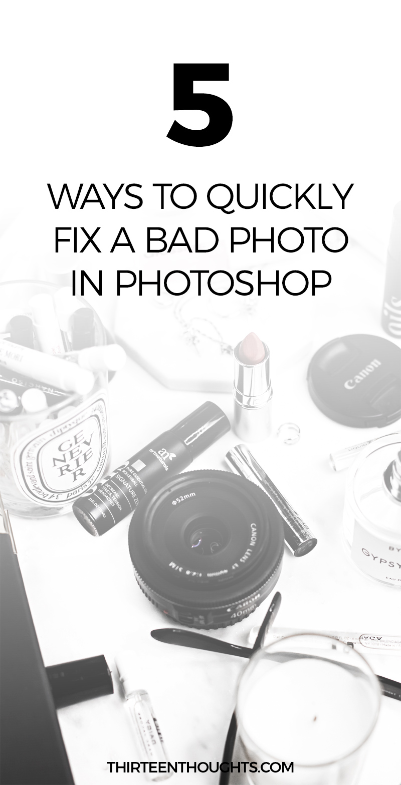 how to fix a bad photo in photoshop