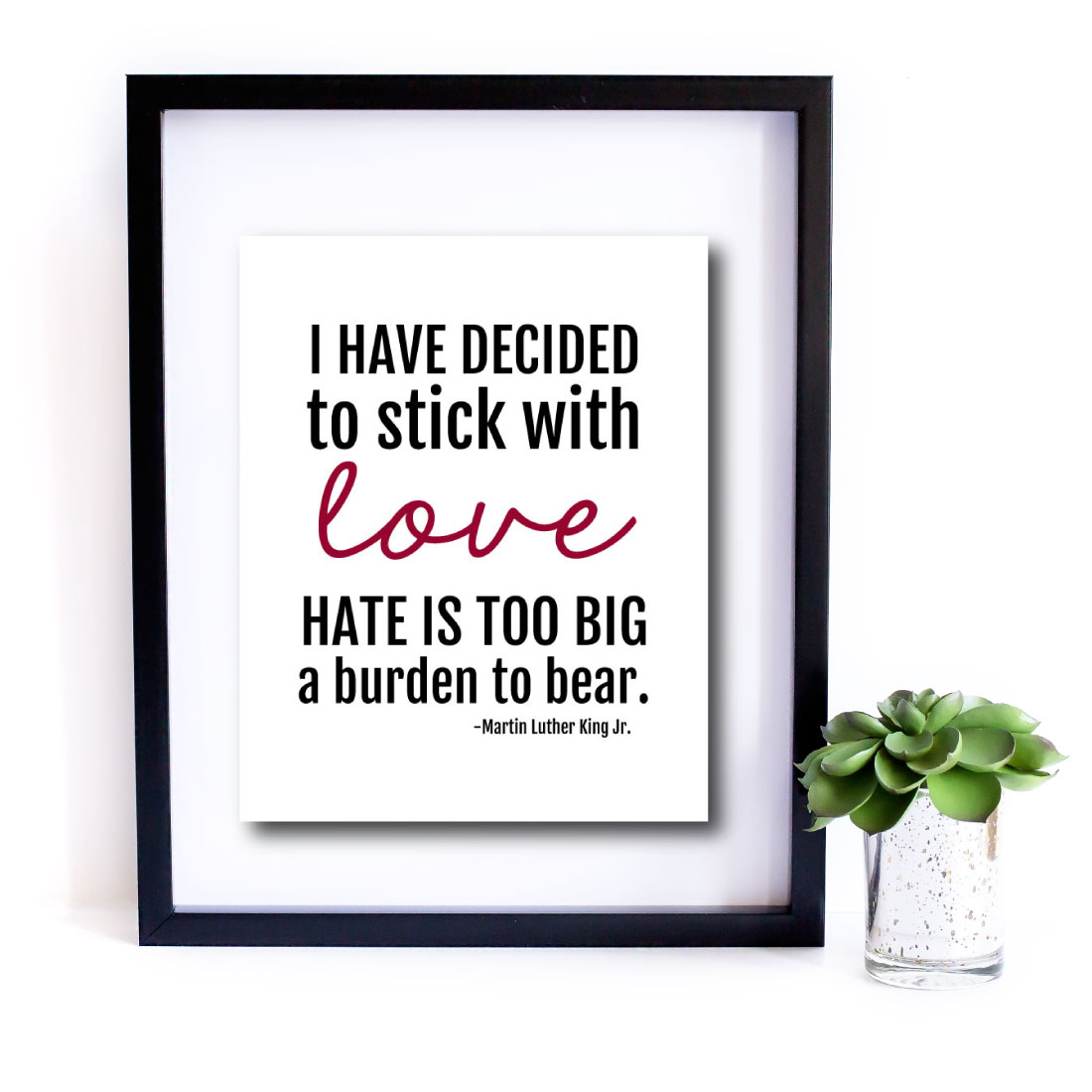 Printable Martin Luther King Jr Quote