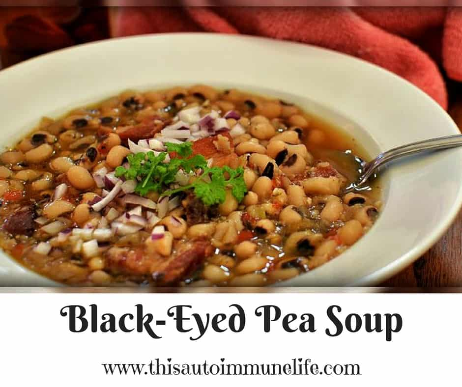 Crock Pot Black-Eyed Pea Soup