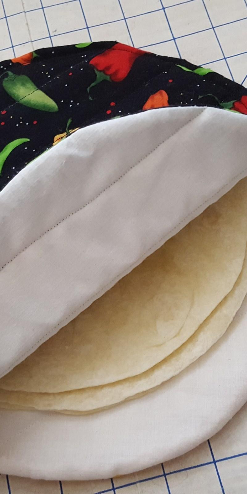 Fabric Plate Warmer ~ Tortilla warmer tutorial from thisautoimmunelife