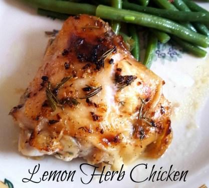 Lemon Herb Chicken