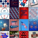 July Fourth Stickers