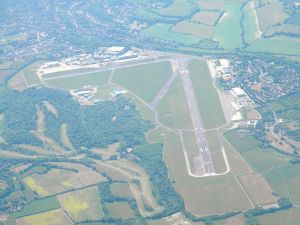 Biggin Hill from the air
