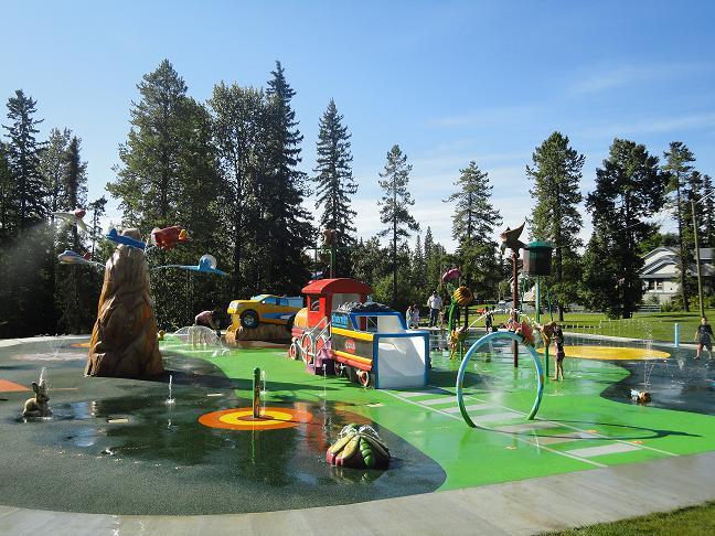 Spray Parks and Hoodoos in Edson, Alberta