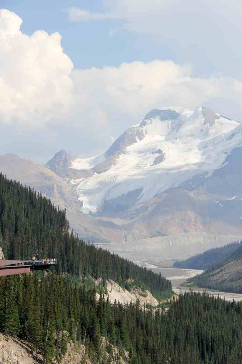 Explore Glacier Skywalk Jasper National Park This Big