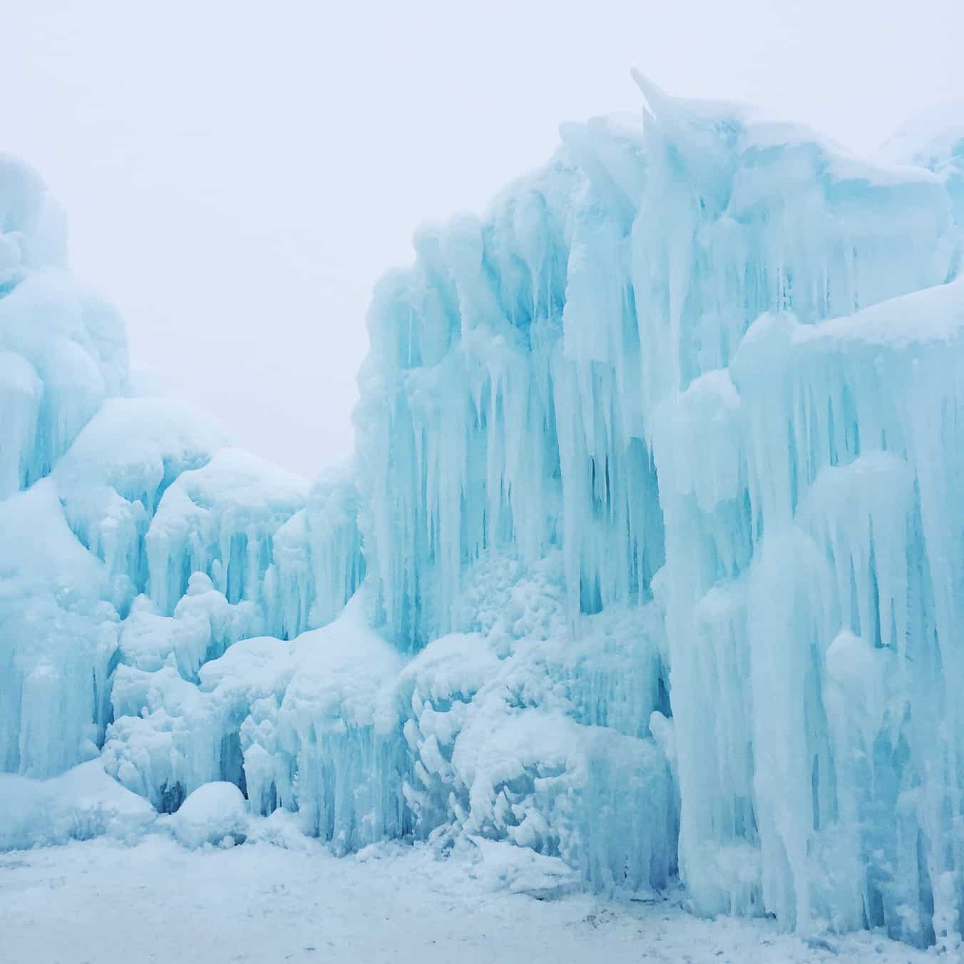 Explore: Ice Castles, Edmonton