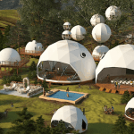 Camp:  Luna Glamping, Northern Lights Resort
