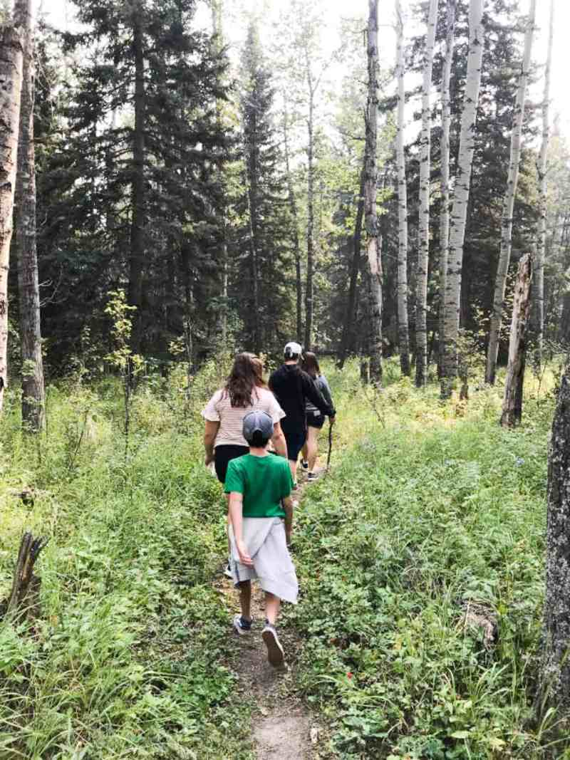 Hike and Bike in Snake Hill Recreation Area