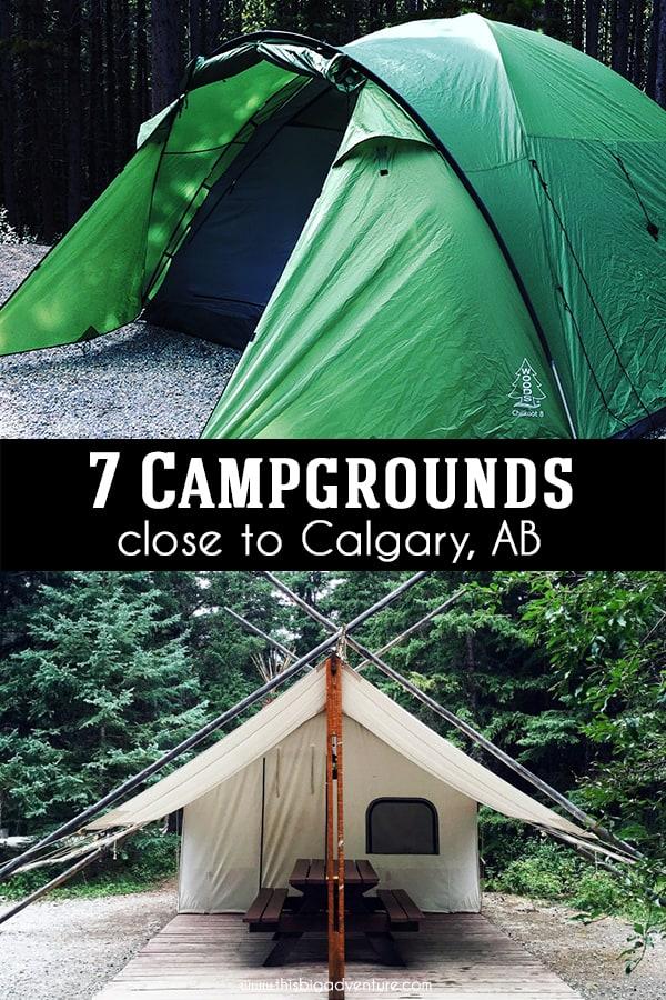 7 Campgrounds Close to Calgary