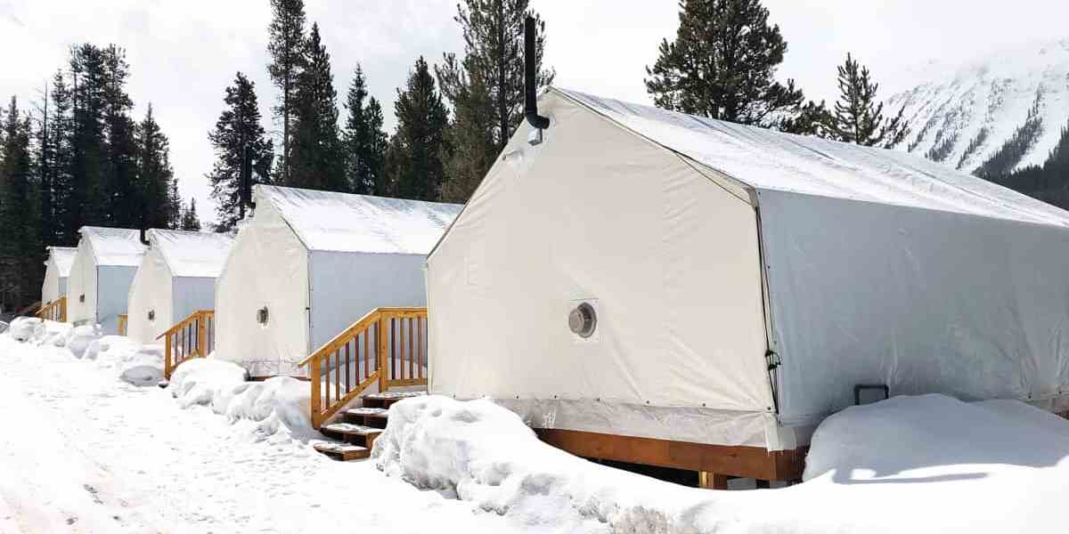 Glamping at Mount Engadine Lodge