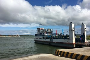 Image of the ferry to Ometepe Island from San Jorges (Rivas) terminal.