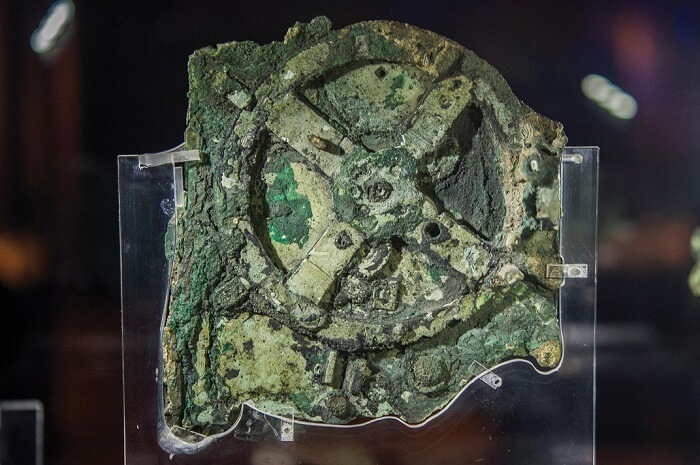 Antikythera Mechanism, one of the most well known ancient Greek artifacts
