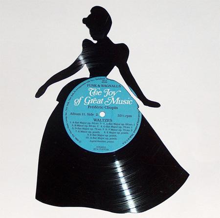 art made of vinyl records (13)