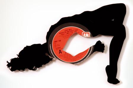 art made of vinyl records (2)