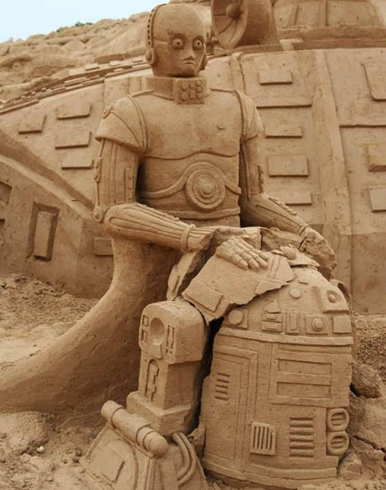 starwarssandsculptures