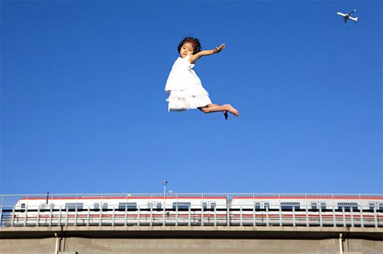 child-fly