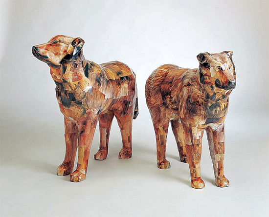 dogs3dsculpture